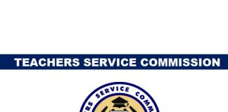 The Teachers Service Commission is advertising 417 posts to replace teachers who have exited service through Natural Attrition (295 posts for Primary Schools and 122 posts for Secondary Schools) Eligible candidates should meet the following basic requirements: (i) Be Kenya citizens. (ii) Must be 45 years of age and below. (iii) Must have original Professional and Academic Certificates. (iv) Must be registered as a teacher as per Section 23 of the Teachers Service Commission Act 2012. Click here to Download TSC teaching vacancies month of May 2019 (a) Applicants for vacancies in Primary schools must be holders of P1 Certificate and will be selected from the County merit lists compiled during the May 2018 recruitment of additional teachers' exercise. READ also: TSC marking scheme and guidelines for employment of primary P1 teachers 2019 Successful candidates will be deployed to serve in stations in any part of the Country and not necessarily in the County where they were recruited. (b) Applicants for vacancies in Secondary Schools must be holders of a minimum of Diploma in Education Certificate. Read also TSC marking scheme and guidelines for employment of Secondary School teachers 2019 Interested candidates should apply to the Secretary, Board of Management of the School/Institution where the vacancy has been advertised and submit a copy to the TSC County Director.